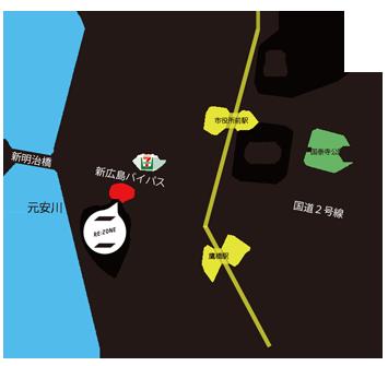 広島鷹の橋ビル 地図