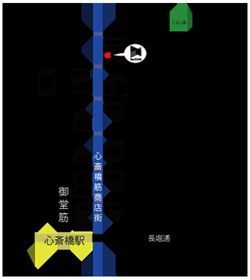 堺筋本町ヒガシビル地図